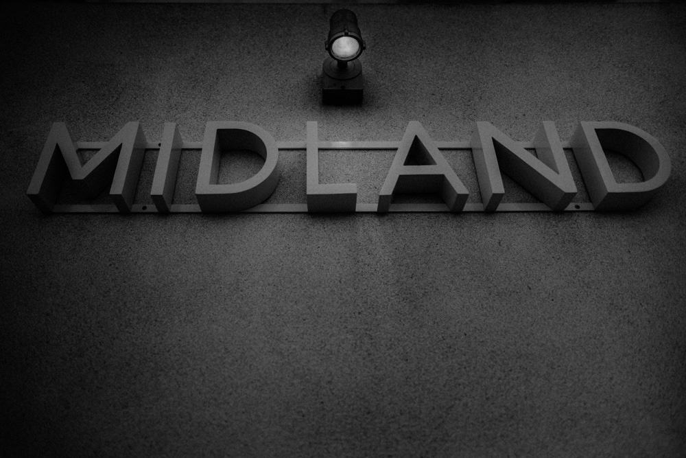 The exterior of the Midland Hotel in Morecambe
