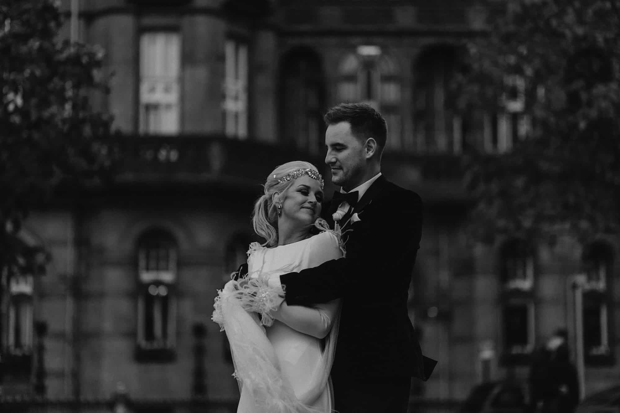 Couples portraits in Manchester city centre