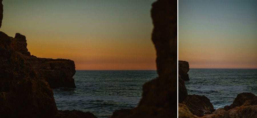 Algar Seco at Sunrise