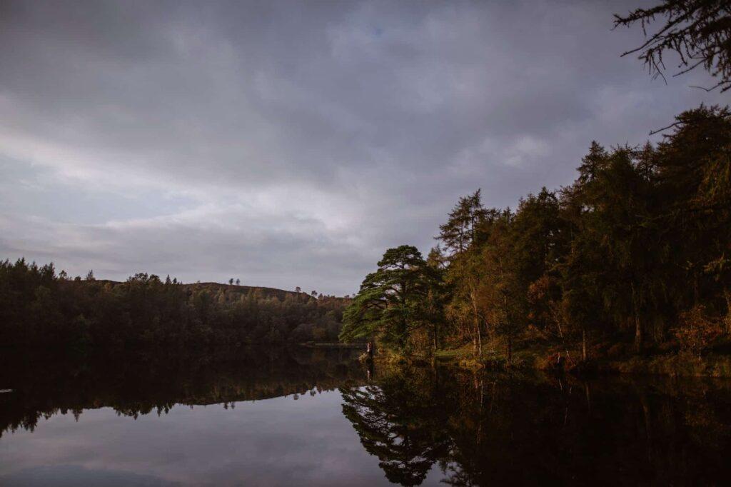 High Dam Tarn in The Lake District